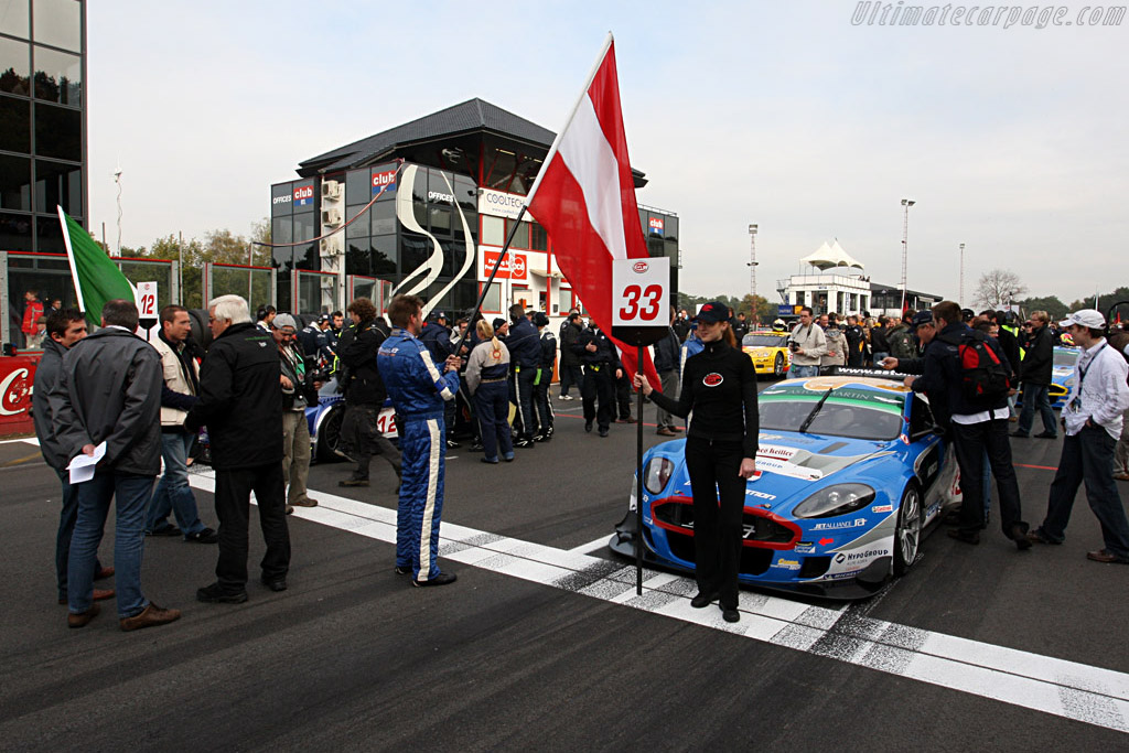 The starting grid - Chassis: DBR9/103   - 2007 FIA GT Zolder