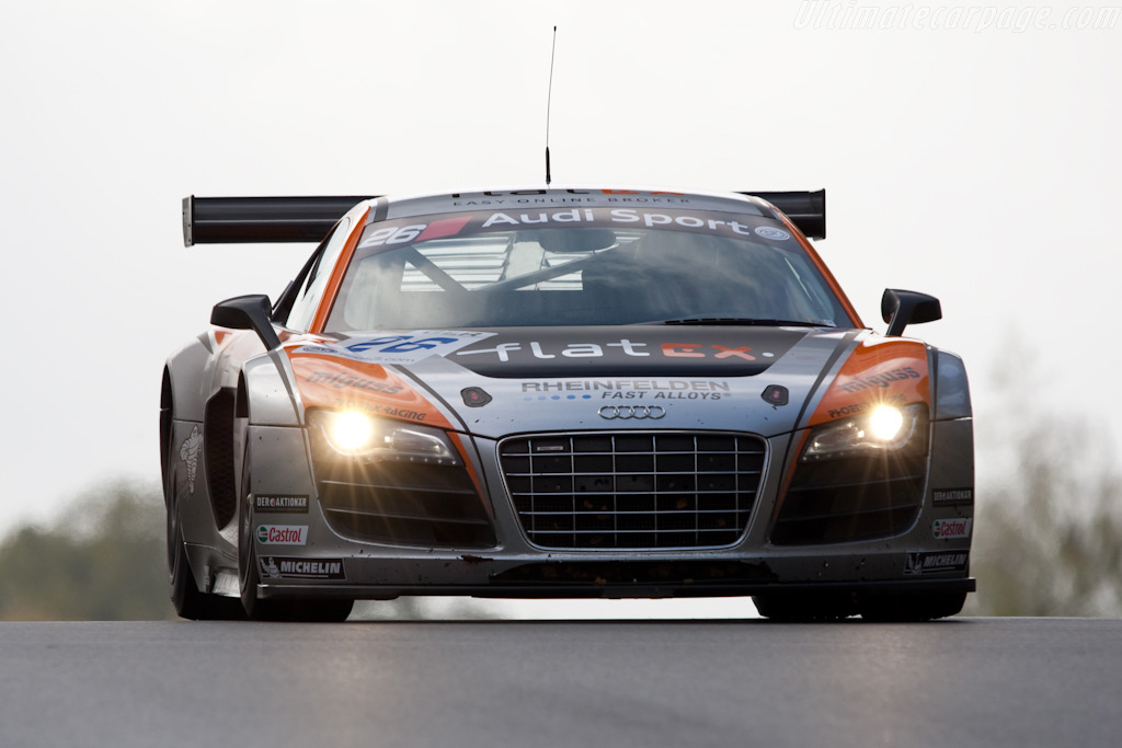 Audi R8 LMS - Chassis: AS42A0FGT3090108    - 2009 FIA GT Zolder