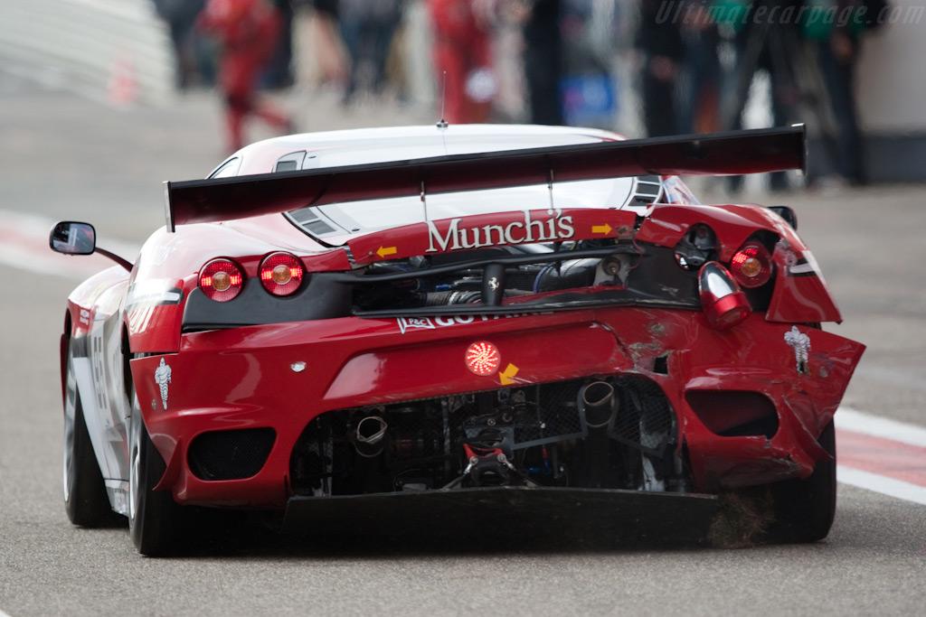Battle damage - Chassis: 2640   - 2009 FIA GT Zolder