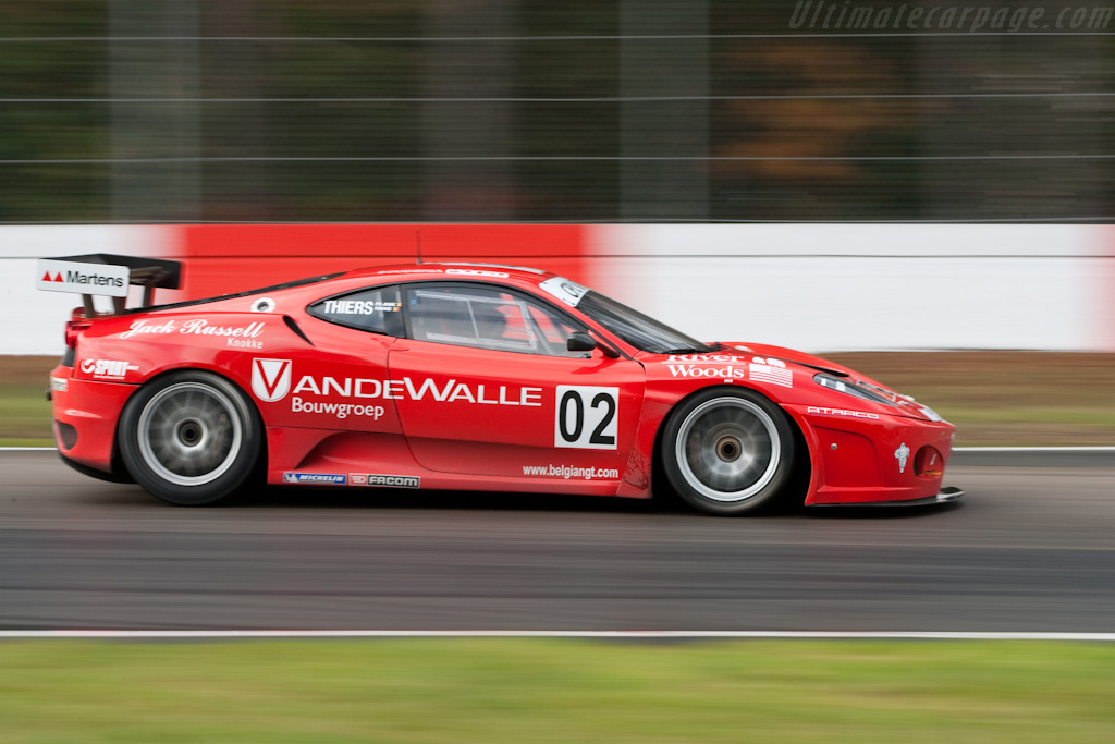 Ferrari F430 GT3 - Chassis: 159322   - 2009 FIA GT Zolder