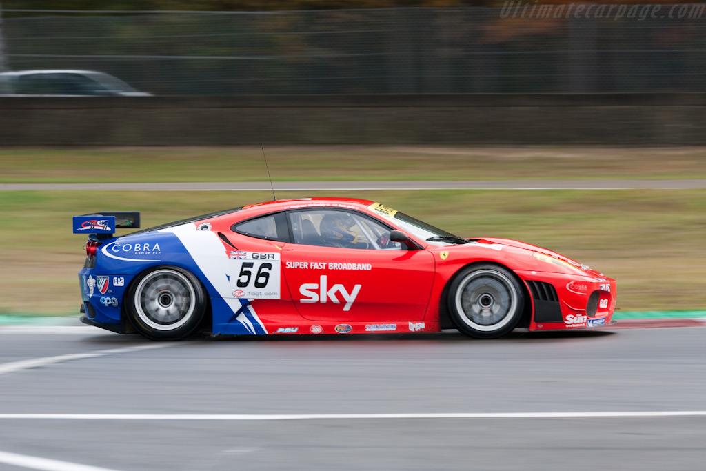 Ferrari F430 GTC - Chassis: 2618   - 2009 FIA GT Zolder
