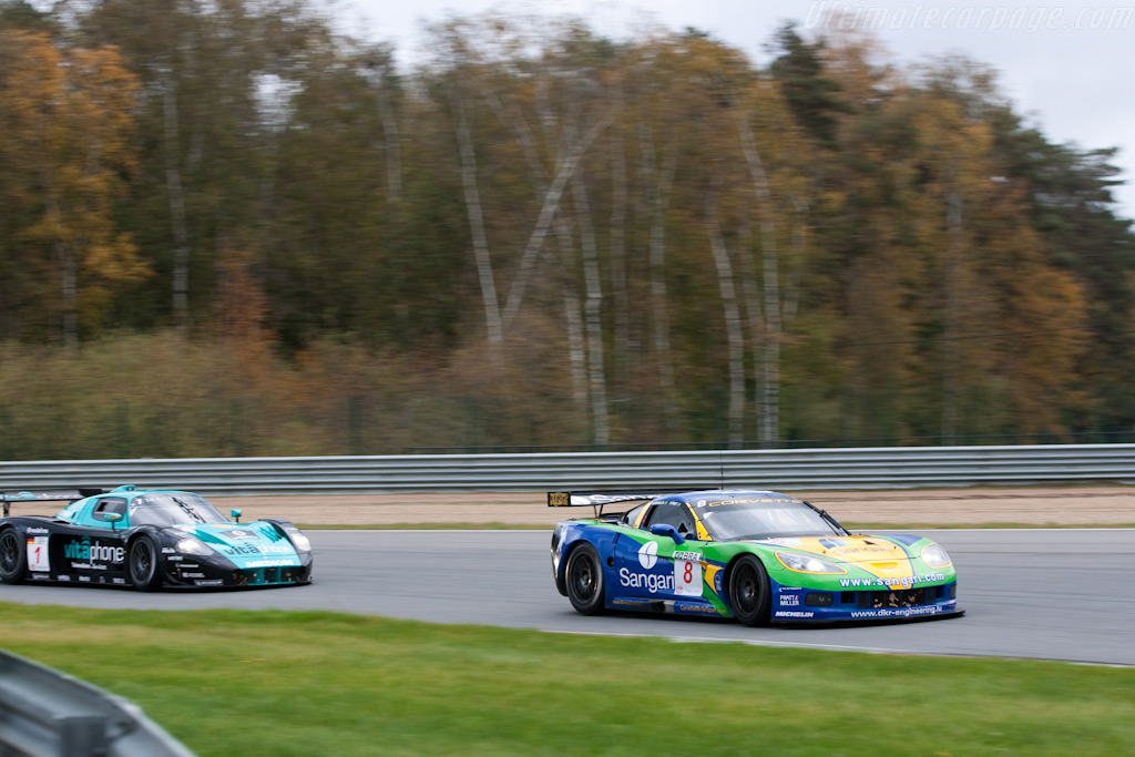 Fight for second - Chassis: 002   - 2009 FIA GT Zolder
