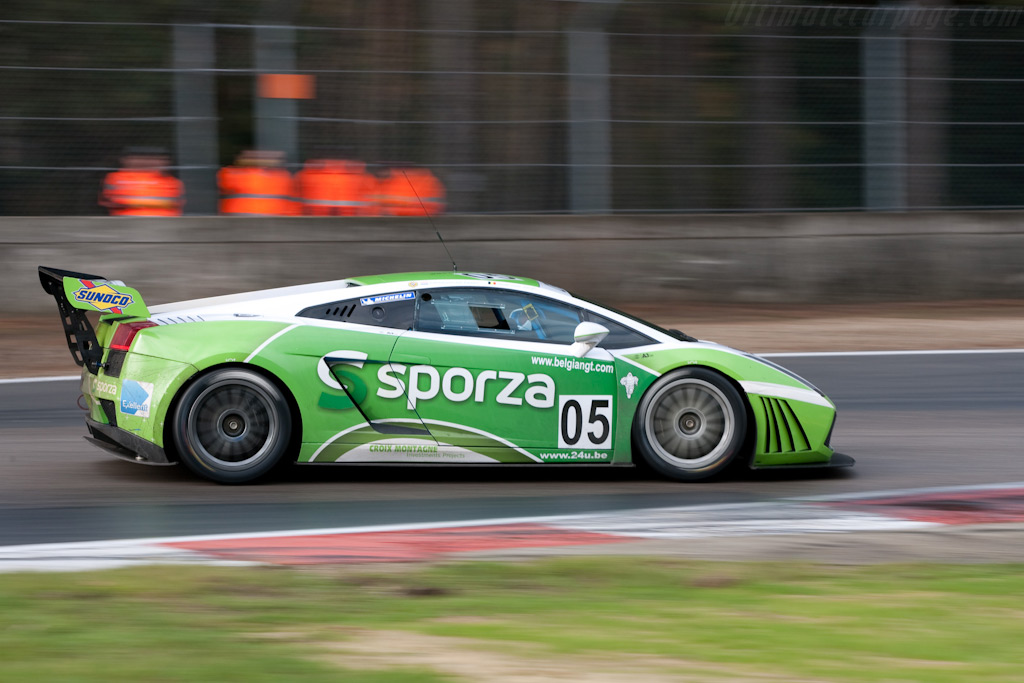 Lamborghini Gallardo GT3 - Chassis: ZHWGE12N68LA06906   - 2009 FIA GT Zolder