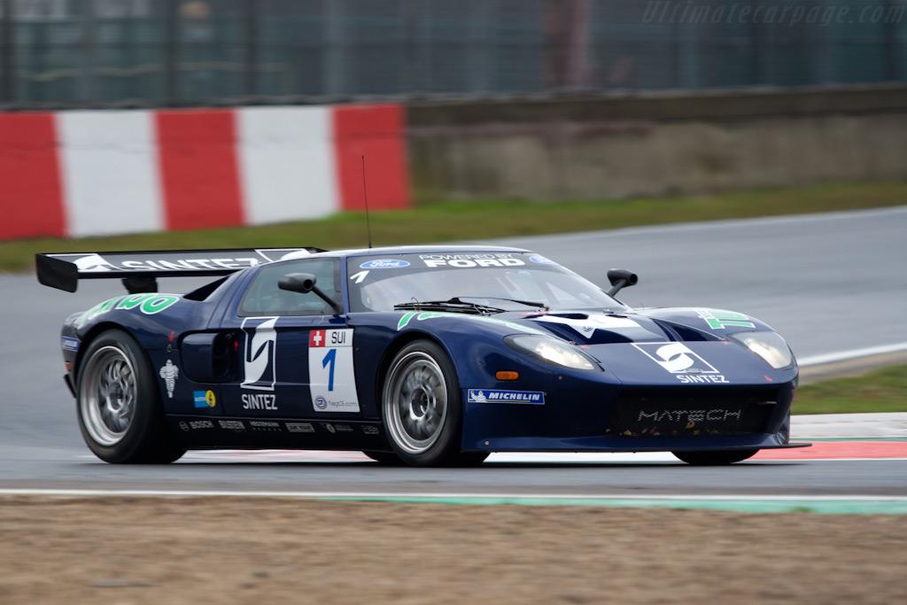 Matech-Ford GT3    - 2009 FIA GT Zolder