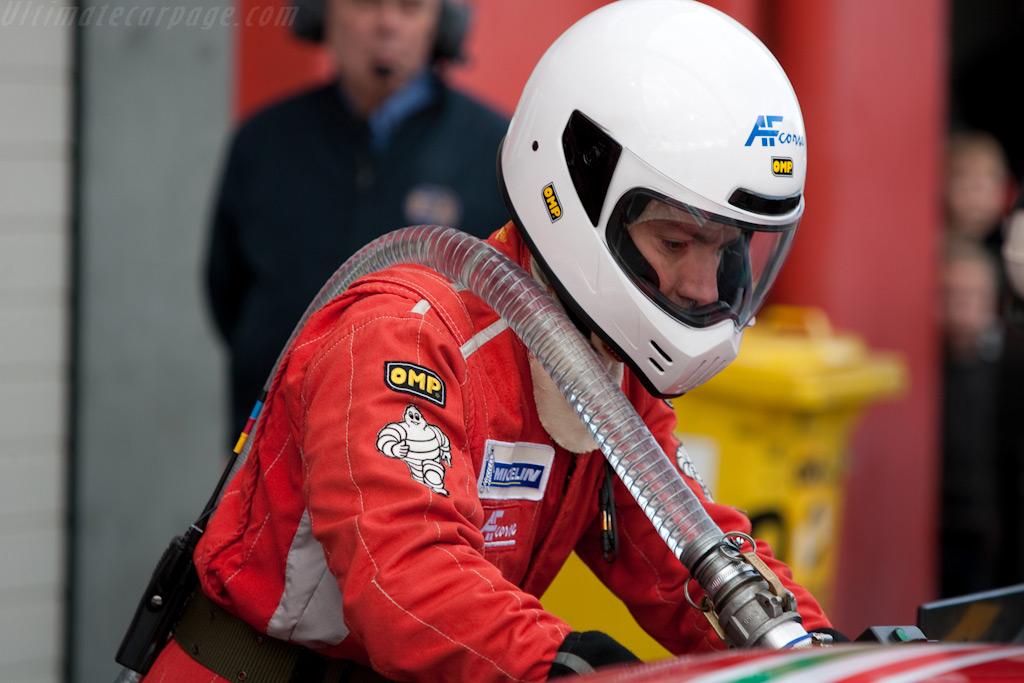 Refueling    - 2009 FIA GT Zolder