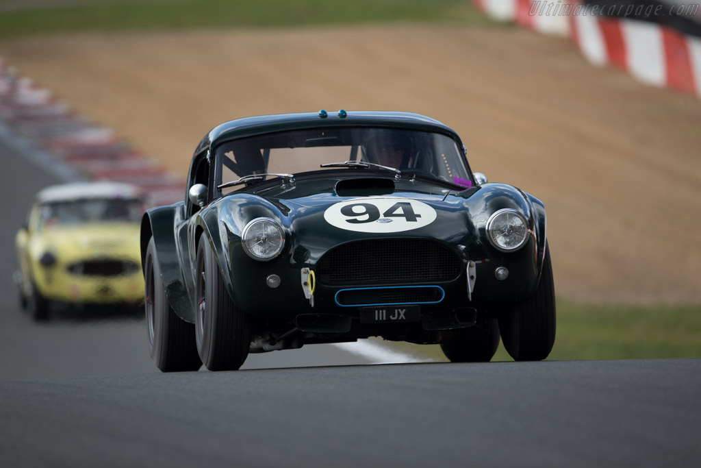 AC Shelby Cobra  - Driver: Michael Gans / Andy Wolfe  - 2016 Zolder Masters Festival