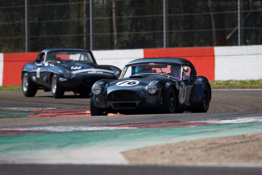 AC Shelby Cobra - Chassis: CSX2174 - Driver: David Hart / Hans Hugenholtz  - 2016 Zolder Masters Festival