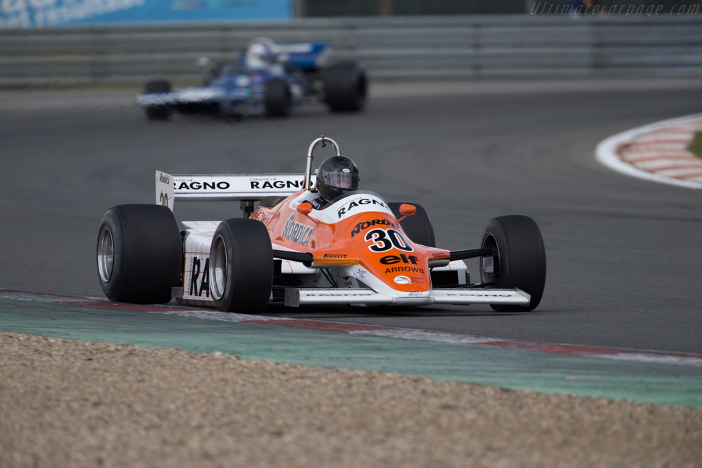 Arrows A4 Cosworth - Chassis: A4-5 - Driver: David Abbott  - 2016 Zolder Masters Festival