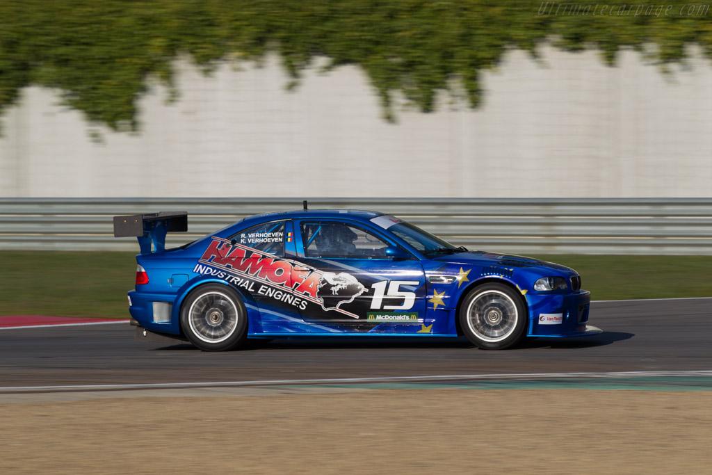 BMW M3 GTR  - Driver: R. Verhoeven / K. Verhoeven  - 2016 Zolder Masters Festival
