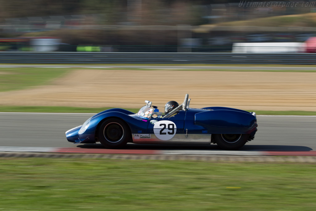 Cooper T61 King Cobra - Chassis: CM/2/63 - Driver: Keith Ahlers / James Billy Bellinger  - 2016 Zolder Masters Festival