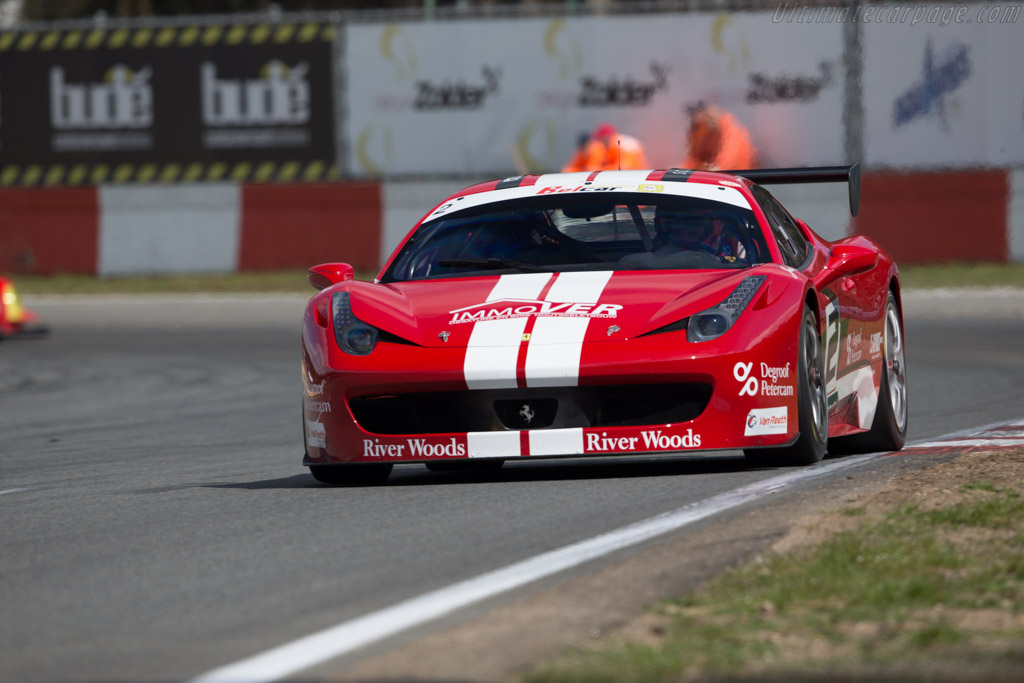 Ferrari 458 Challenge  - Driver: F. Thiers / H. Thiers  - 2016 Zolder Masters Festival