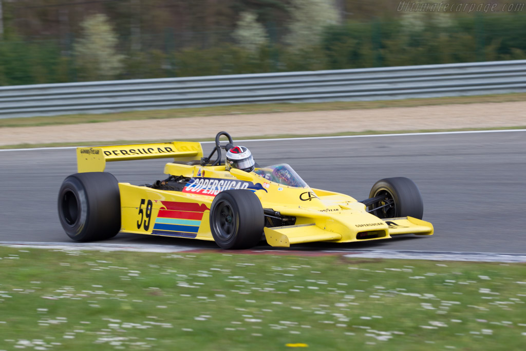 Fittipaldi F5A Cosworth - Chassis: F5A-3 - Driver: Alain Plasch  - 2016 Zolder Masters Festival