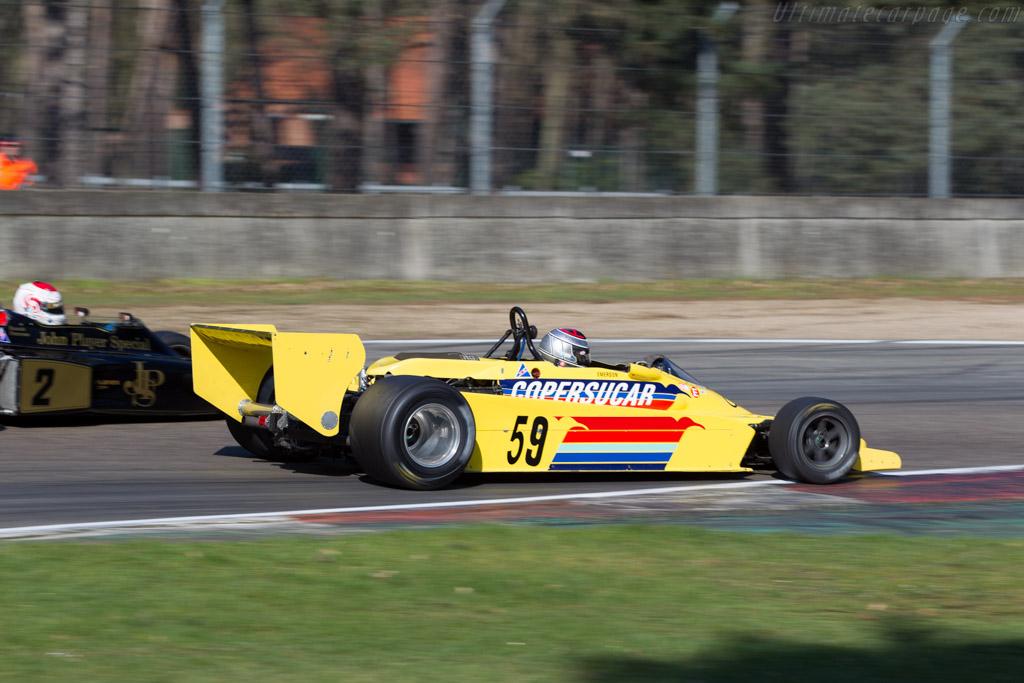 Fittipaldi F5A Cosworth - Chassis: F5A-3 - Driver: Alain Plasch  - 2016 Zolder Masters Festival