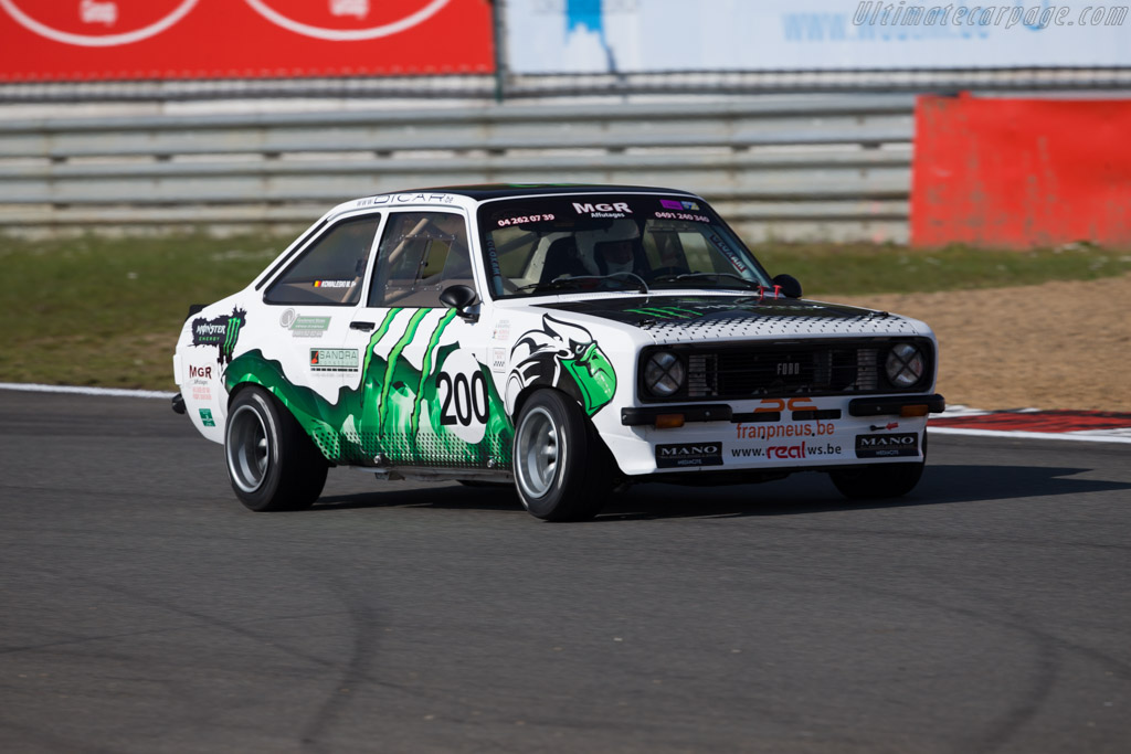 Ford Escort RS2000  - Driver: Michel Kowaleski  - 2016 Zolder Masters Festival