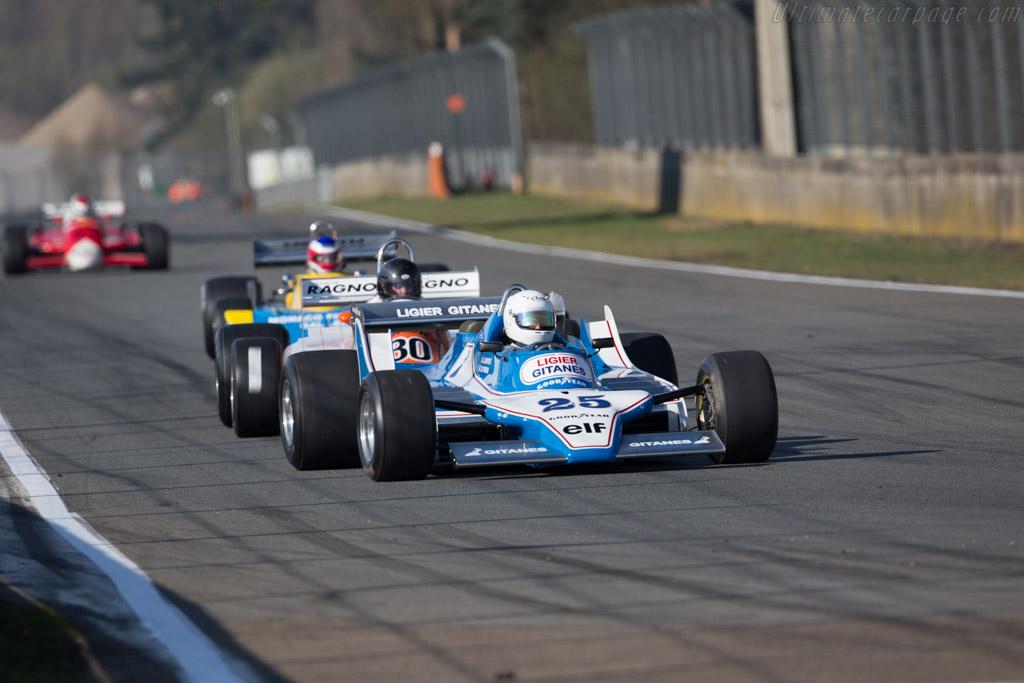 Ligier JS11 Cosworth - Chassis: JS11/01 - Driver: Pierre-Alain France - 2016 Zolder Masters Festival