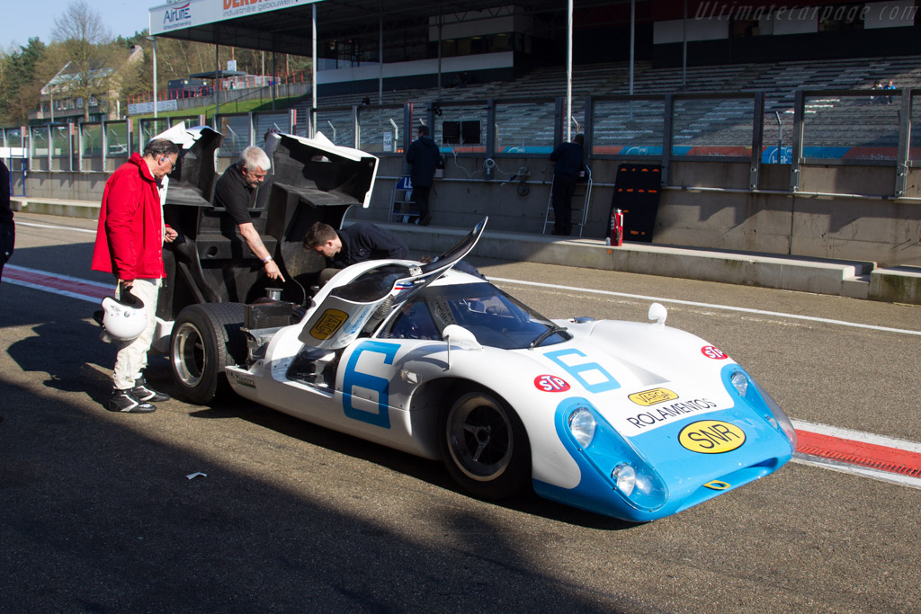 Lola T70 Mk3B Coupe - Chassis: SL76/153 - Driver: Leo Voyazides / Simon Hadfield  - 2016 Zolder Masters Festival