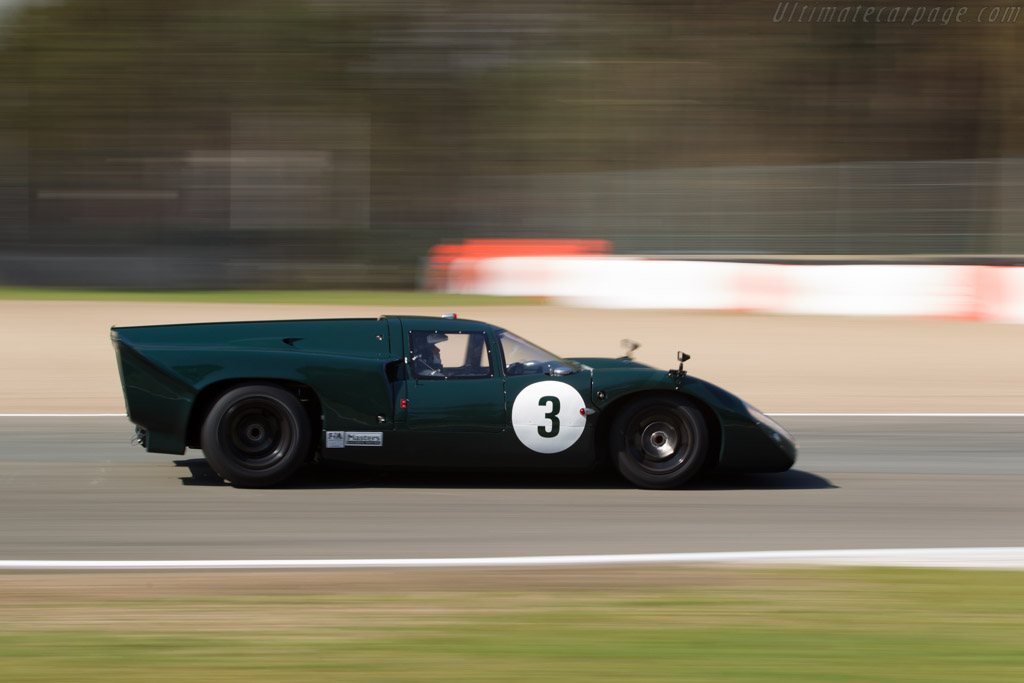 Lola T70 Mk3B Coupe  - Driver: Jason Wright  - 2016 Zolder Masters Festival