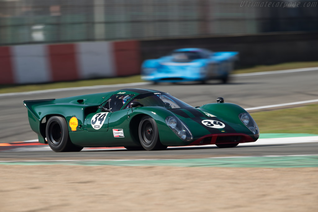 Lola T70 Mk3B Coupe - Chassis: SL76/147 - Driver: David Hart  - 2016 Zolder Masters Festival