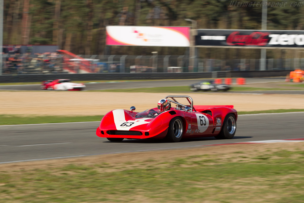 Lola T70 Mk3B Spider - Chassis: SL75/125 - Driver: Marc Devis  - 2016 Zolder Masters Festival