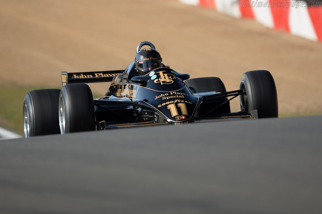 Lotus 91 Cosworth - Chassis: 91/5 - Driver: Greg Thornton  - 2016 Zolder Masters Festival
