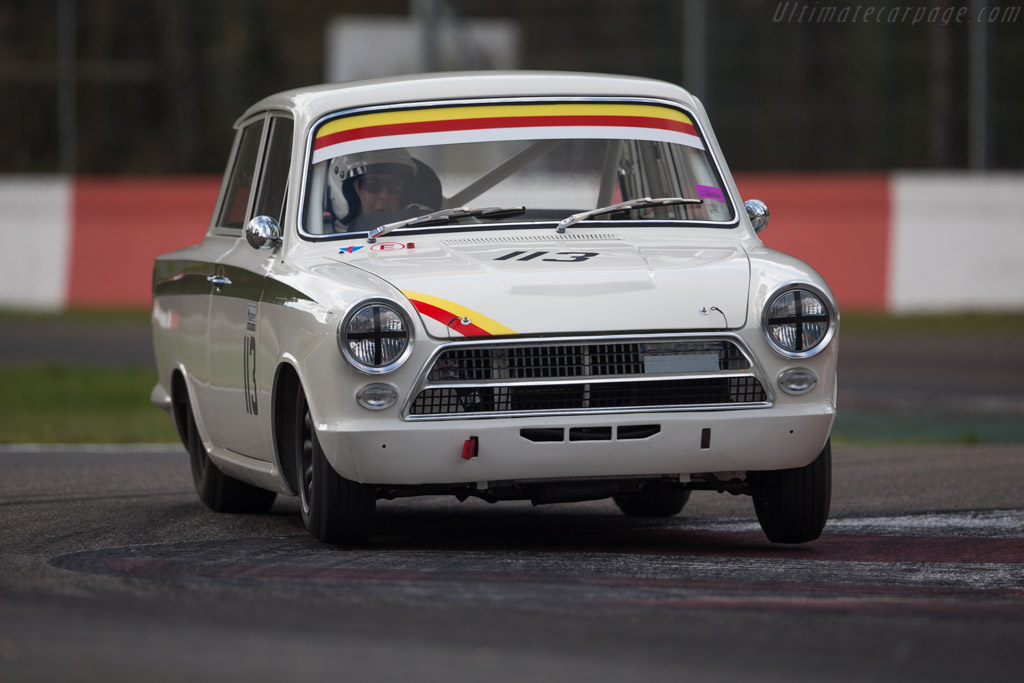 Lotus Cortina  - Driver: Michael Gans / Andy Wolfe  - 2016 Zolder Masters Festival