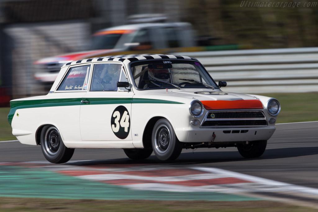 Lotus Cortina  - Driver: Oliver Hart / Hans Hugenholtz  - 2016 Zolder Masters Festival