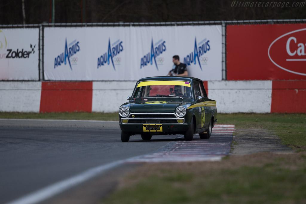 Lotus Cortina  - Driver: Thierry de Latre du Bosqueau  - 2016 Zolder Masters Festival