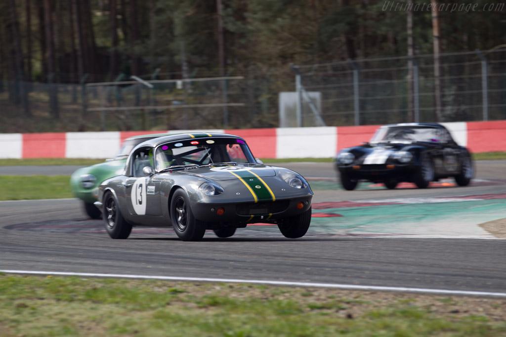 Lotus Elan - Chassis: 26-0206 - Driver: Graham Wilson / Nigel Greensall  - 2016 Zolder Masters Festival