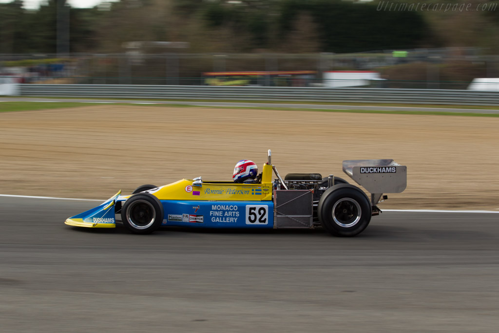 March 761 Cosworth - Chassis: 761-03 - Driver: Frits van Eerd  - 2016 Zolder Masters Festival