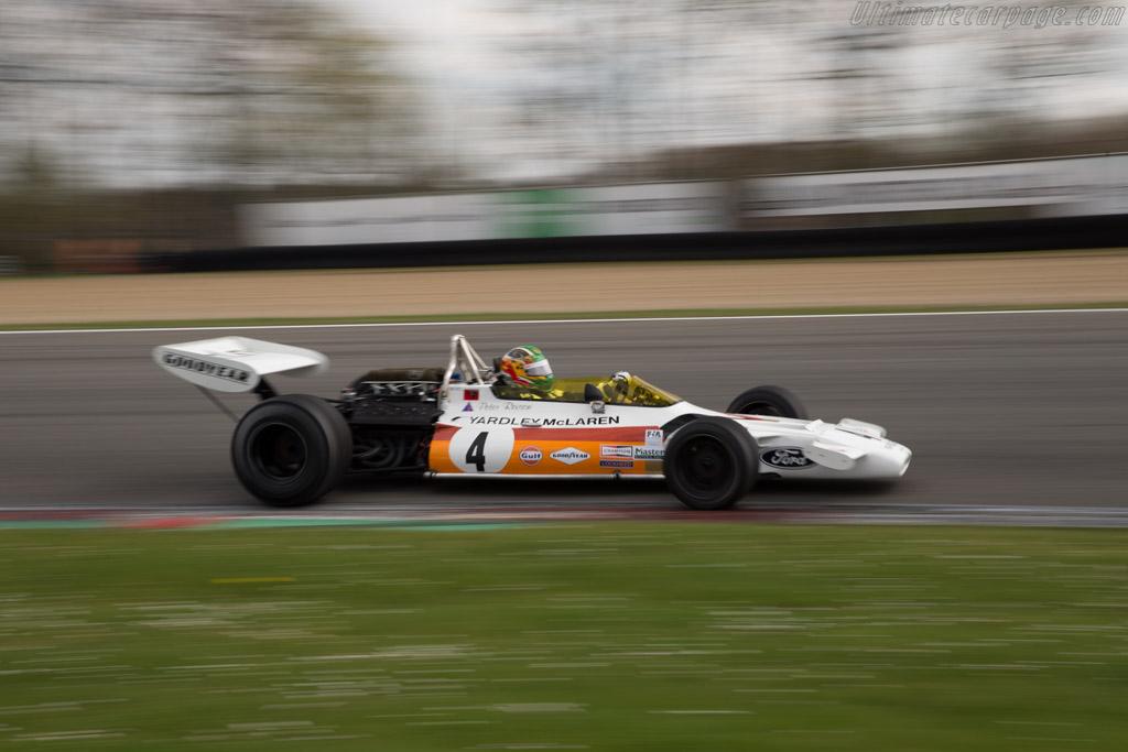 McLaren M19 Cosworth - Chassis: M19C-2 - Driver: Joaquin Folch-Rusinol  - 2016 Zolder Masters Festival