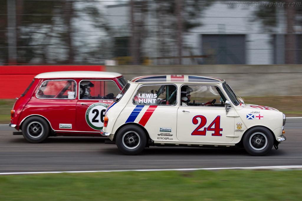 Mini Cooper S  - Driver: Jonathan Lewis  - 2016 Zolder Masters Festival