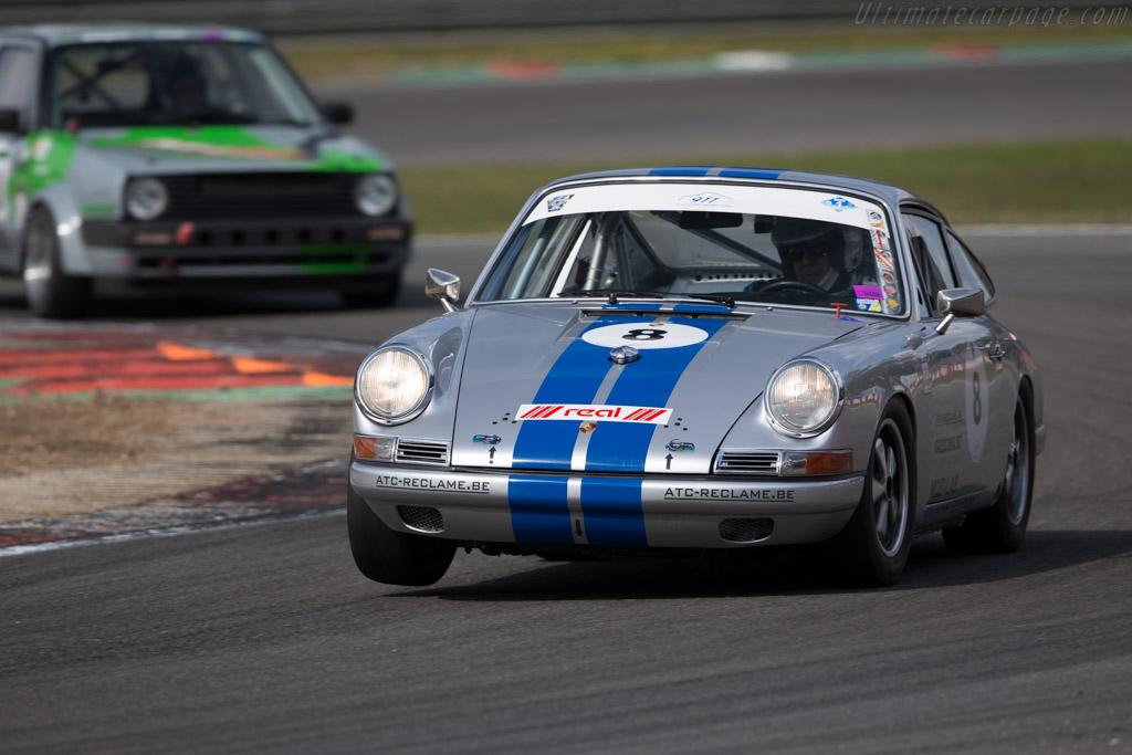 Porsche 911  - Driver: Luc Geebelen  - 2016 Zolder Masters Festival