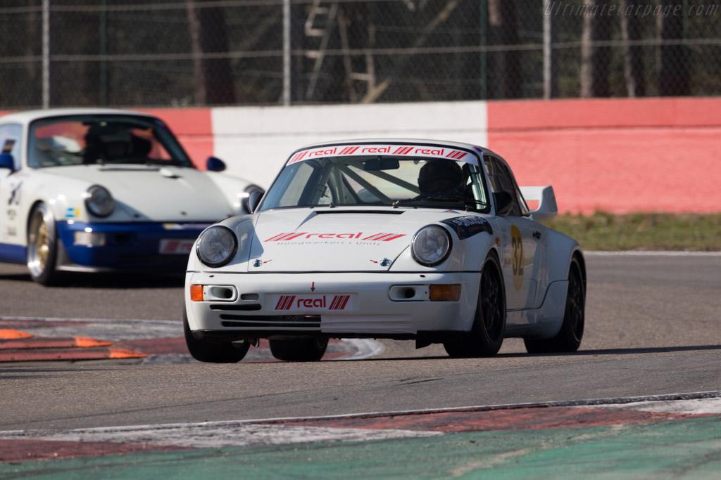 Porsche 964  - Driver: Pierre-Yves Paque  - 2016 Zolder Masters Festival
