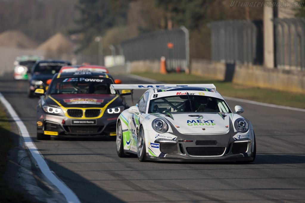 Porsche 991 GT3 Cup  - Driver: Koen Wauters / Kris Wauters  - 2016 Zolder Masters Festival