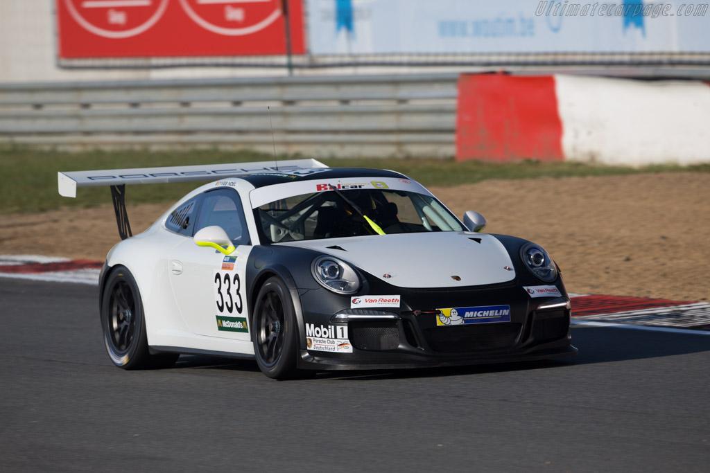 Porsche 997 GT3 Cup  - Driver: Y. Noel / P. van Audenhove  - 2016 Zolder Masters Festival