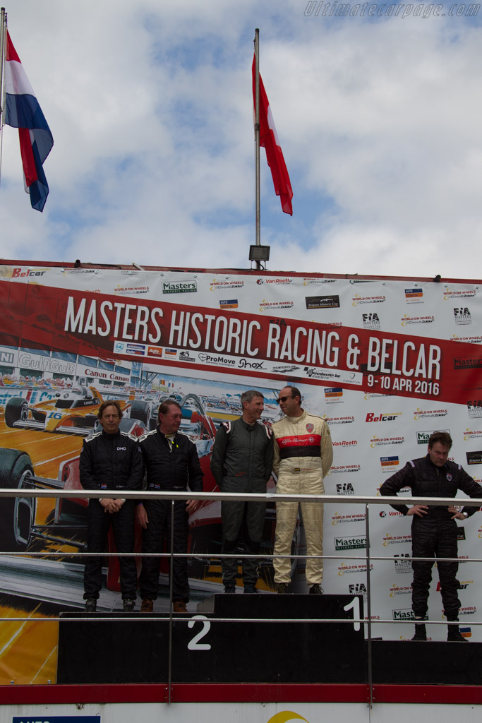 The winners    - 2016 Zolder Masters Festival