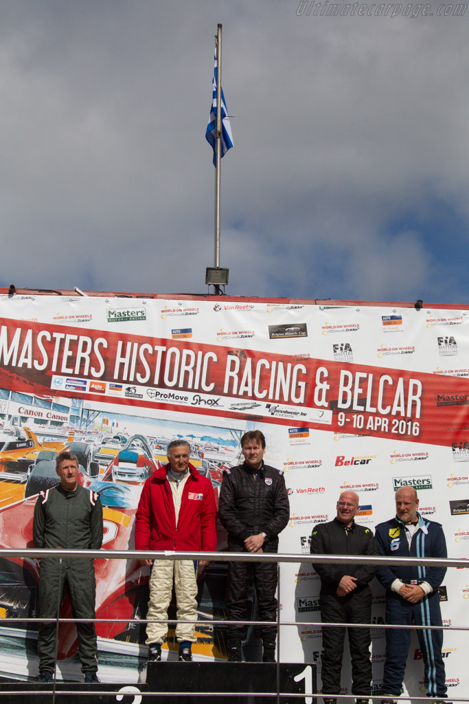 The winners    - 2016 Zolder Masters Festival