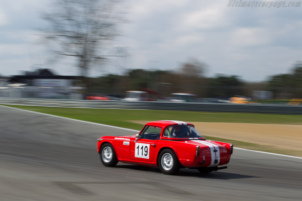 Triumph TR4A - Chassis: 75496CT - Driver: David Hathaway  - 2016 Zolder Masters Festival