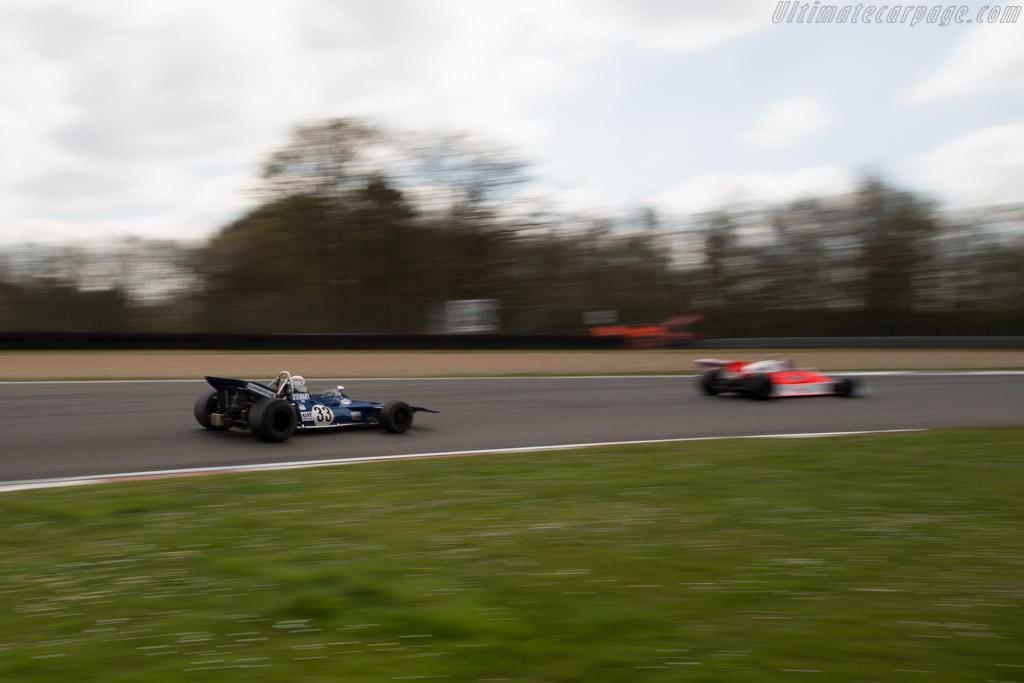 Tyrrell 001 Cosworth - Chassis: 001 - Driver: John Delane  - 2016 Zolder Masters Festival