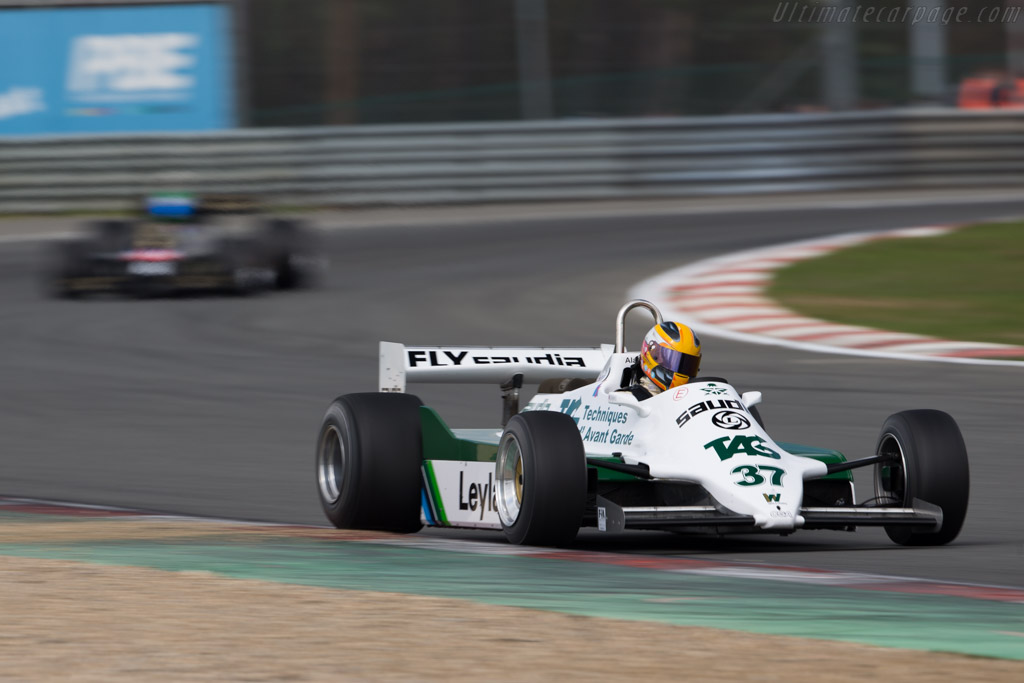 Williams FW07C Cosworth - Chassis: FW07C/11 - Driver: Christophe d'Ansembourg  - 2016 Zolder Masters Festival