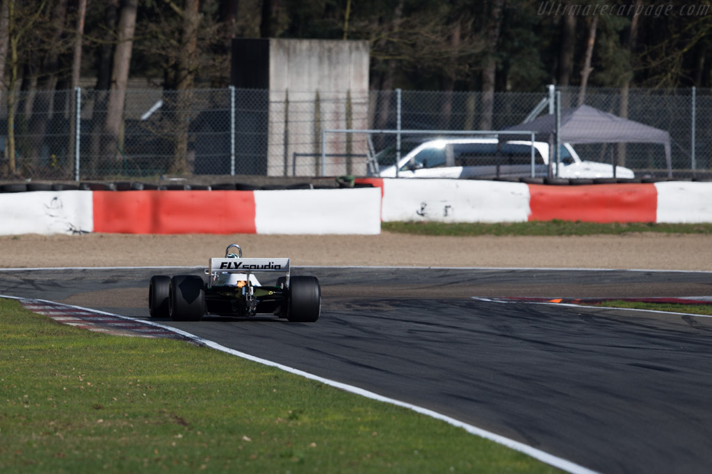 Williams FW07D Cosworth - Chassis: FW07D/16 - Driver: Mike Wrigley  - 2016 Zolder Masters Festival