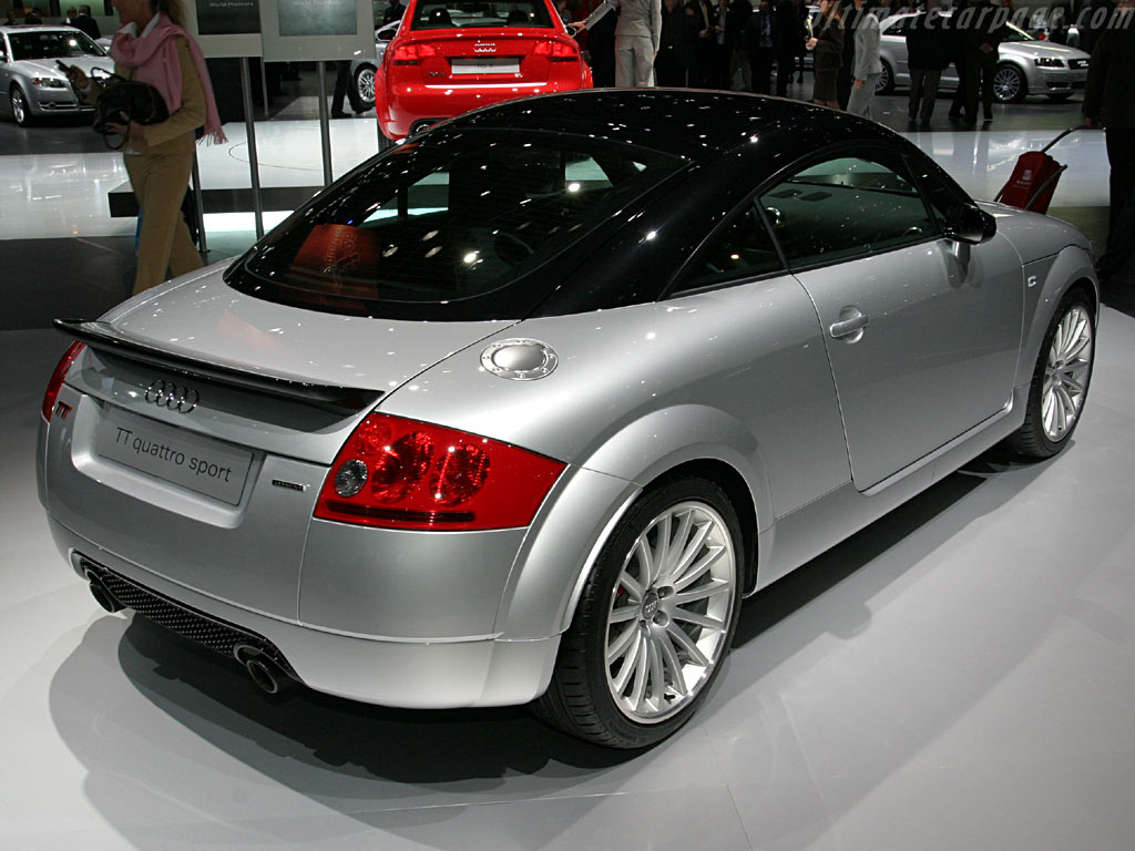 Audi Tt Quattro Sport High Resolution Image 5 Of 5
