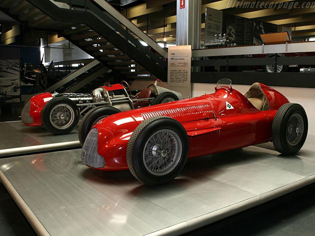 Alfetta - The Alfa Romeo