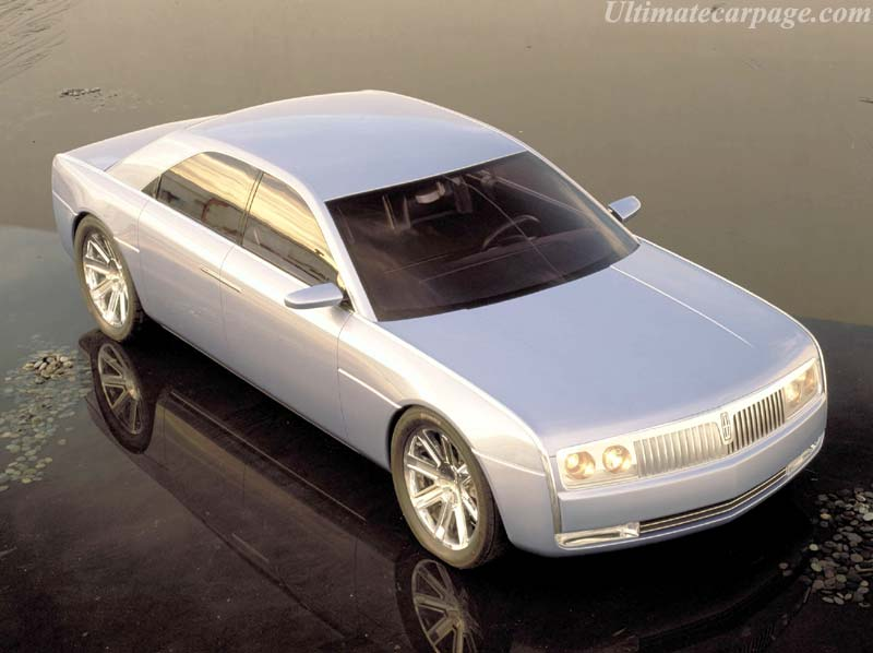 2002 Lincoln Continental Concept. Lincoln Puts Cadillac On