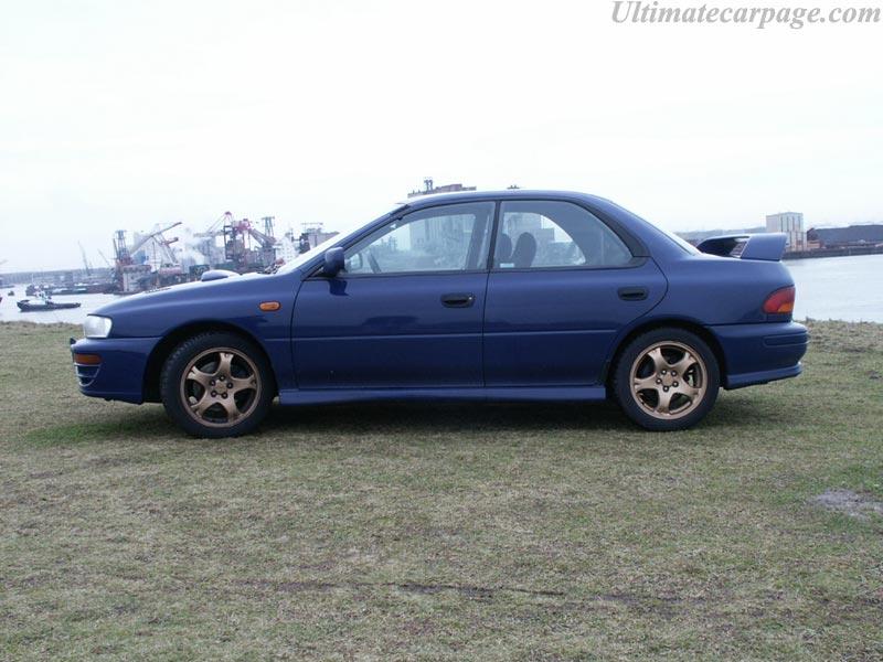 Subaru Impreza Turbo GT High Resolution Image (3 of 6)
