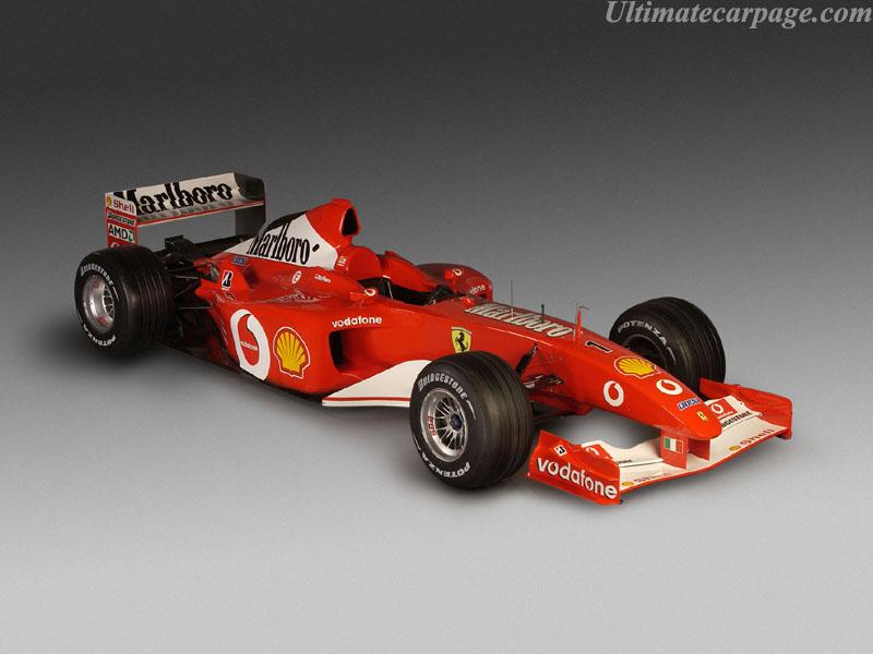 Ferrari F2002 High Resolution Image 1 Of 30