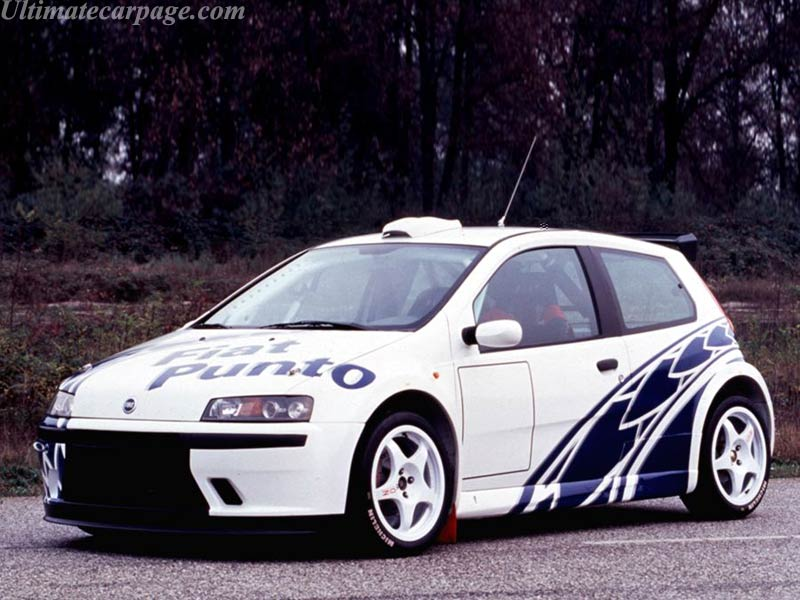 Fiat Punto Abarth Rally High Resolution Image 1 Of 6