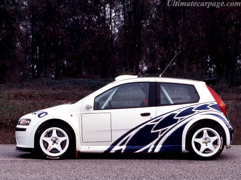 Fiat Punto Abarth Rally High Resolution Image 2 Of 6
