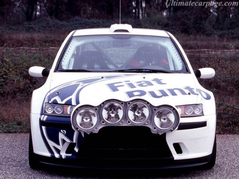 Fiat Punto Abarth Rally High Resolution Image (3 of 6)