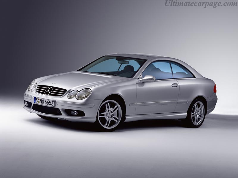 Mercedes Benz Clk 55 Amg High Resolution Image 1 Of 12